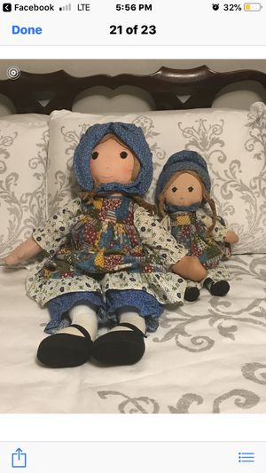Holly Hobby collectible dolls over 20 years old for Sale in Jacksonville, FL