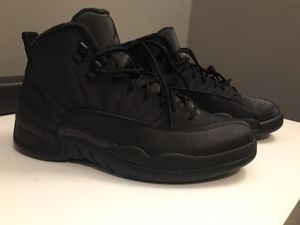 Photo Jordan Retro 12 Winter Black