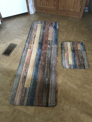 Rustic Bathroom Rugs! for Sale in Rustburg, VA