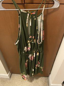 Green Floral Dress Thumbnail
