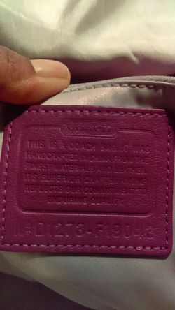 Coach purse and I also have matching wallet Thumbnail