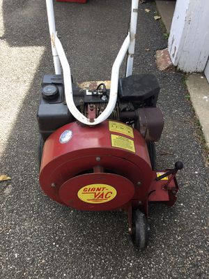 Photo Leaf blower 8hp briggs and stratton used