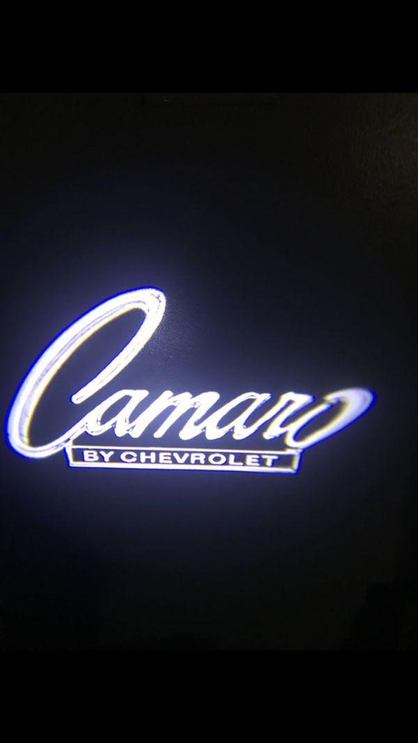 Camaro Car Door Projector Lights 3 Aaa Batteries Works With A Hidden