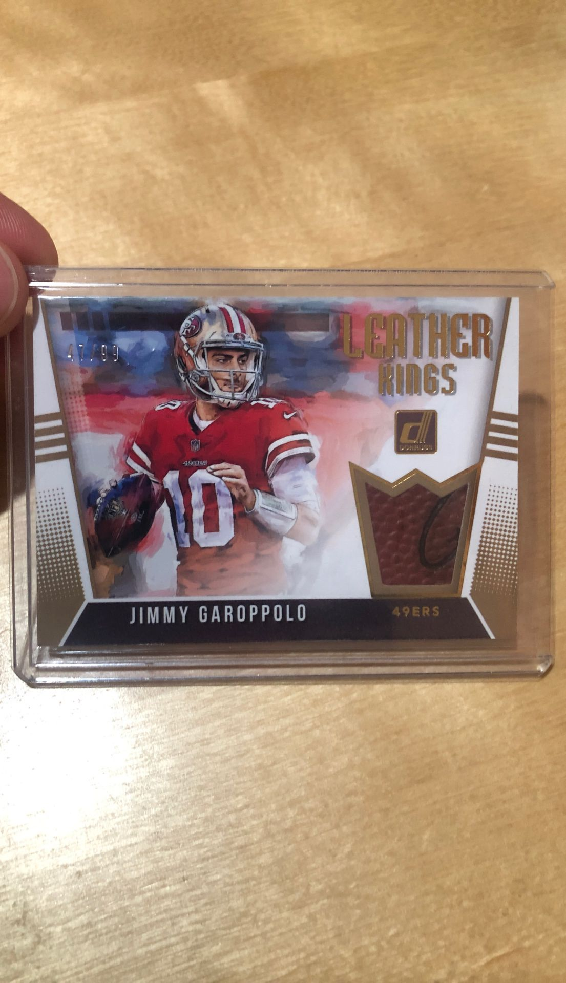 Jimmy Garoppolo card