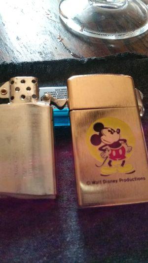 Photo 1976 Mickey mouse zippo. Bradford exchange