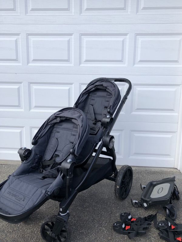 Baby Jogger City Select Lux 2018 Double Stroller For Sale In Tacoma Wa Offerup