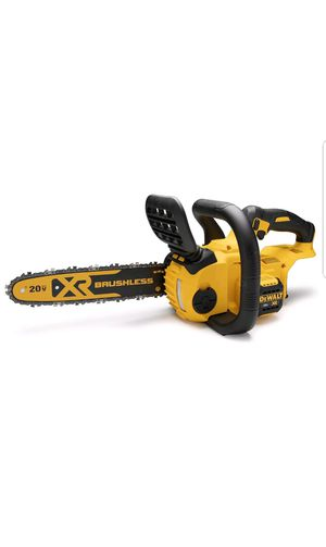 DEWALT DCCS620B 20V MAX Compact Chainsaw (Bare Tool battery or charger not included) for Sale in Upper Marlboro, MD