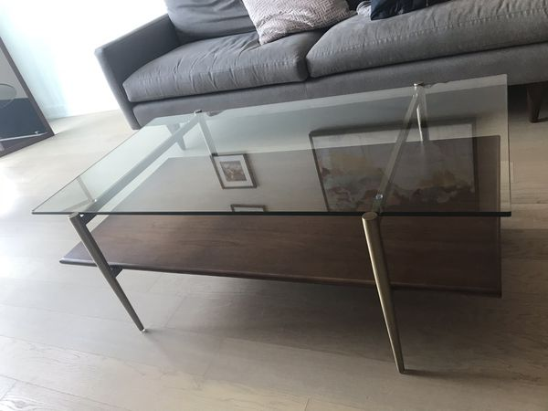 Mid Century Art Display Coffee Table West Elm For Sale In