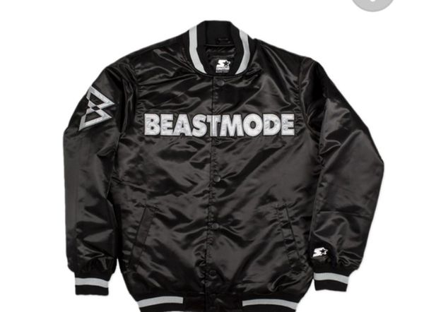 dbf4b57d BRAND NEW BEASTMODE (MENS SIZE L) RAIDERS STARTER JACKET for Sale in  Hayward, CA - OfferUp