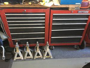 Photo Craftsman toolbox tool box with tools