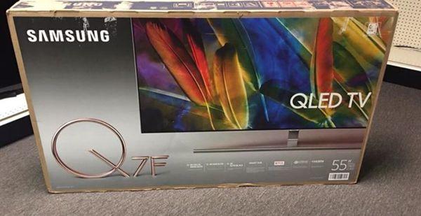 Samsung 55 Uhdtv Qled Q7f 4k Smart Tv Model Qn55q7famf