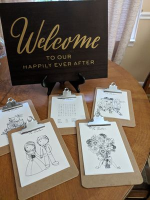 Wedding Welcome Kit for Sale in Herndon, VA