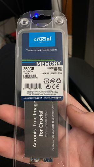 Photo Crucial MX500 250GB 3D NAND SATA M.2 Type 2280SS Internal SSD - CT250MX500SSD4