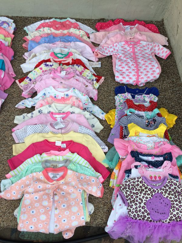 Huge Baby Girl Clothing Lot Baby Kids In San Diego Ca Offerup