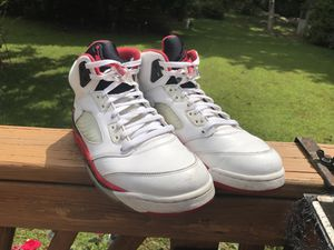 Air Jordan 5s Black Tongue Size 11 for Sale in Gaithersburg, MD