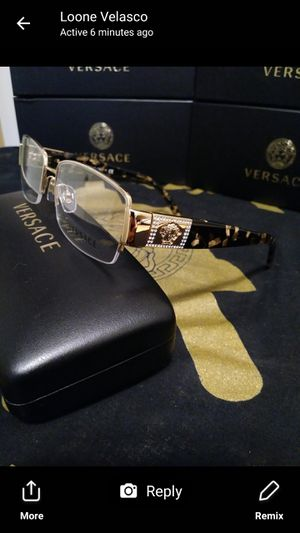 b9ef08cf6e844 Brand new Versace glasses with demo lenz for Sale in San Marcos