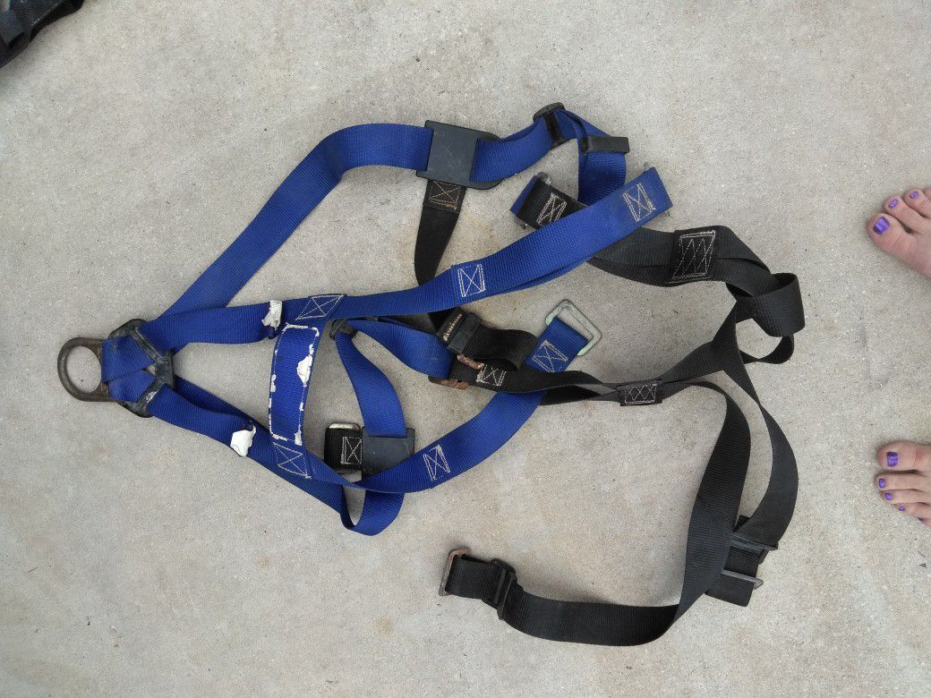 Sala talon self retracting lifeline and harnesses
