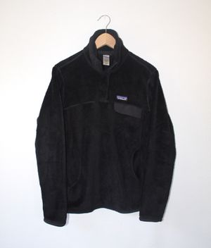 Women s Patagonia Re Tool Snap T Fleece Pullover Sweatshirt Size Small Black  for Sale in Westminster 0892ecaca864b
