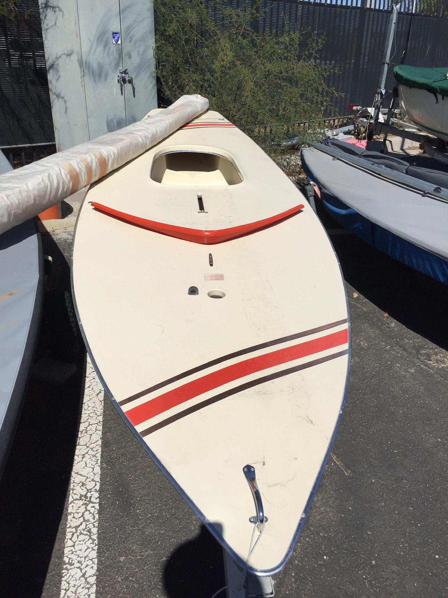 Photo Sunfish Sailboat, Ready To Sail
