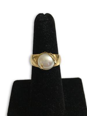 18k Pearl Ring for Sale in Alexandria, VA