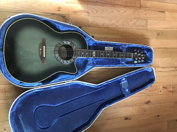 used ovation collectors series 1983 b acoustic electric guitar for sale in san diego ca offerup. Black Bedroom Furniture Sets. Home Design Ideas