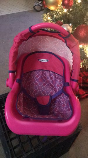 "Graco travel car seat with canopy and stroller for 12-18"" dolls for Sale in Centreville, VA"