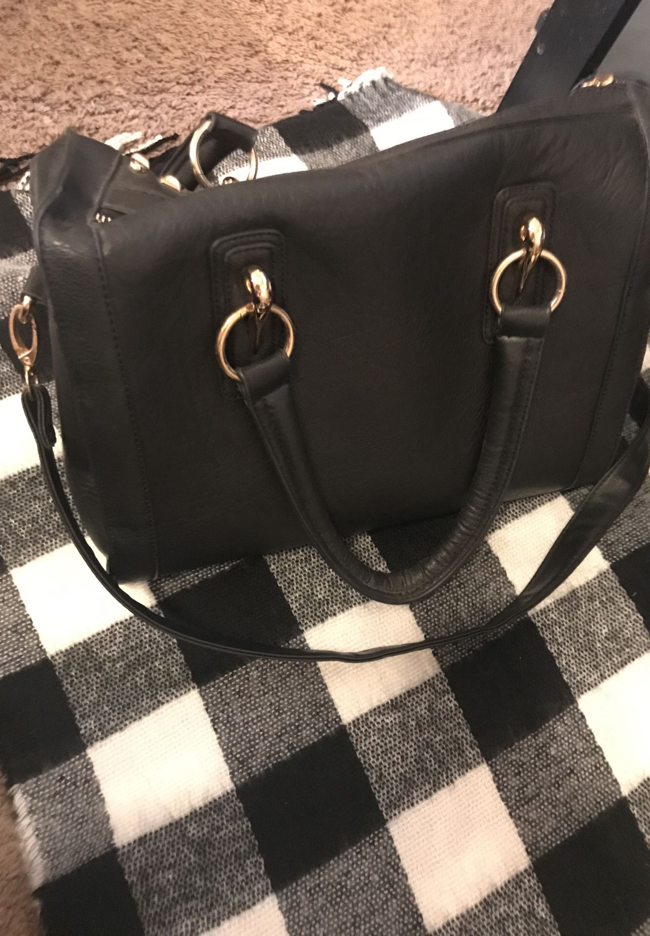 Wilson's leather studded purse