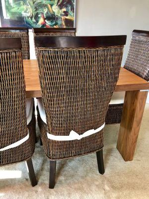 Dining room table and six chairs for Sale in Springfield, VA
