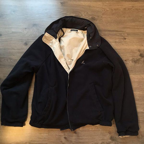 99a85d3613f6 Nautica reversible fleece waterproof XL jacket for Sale in Tacoma ...