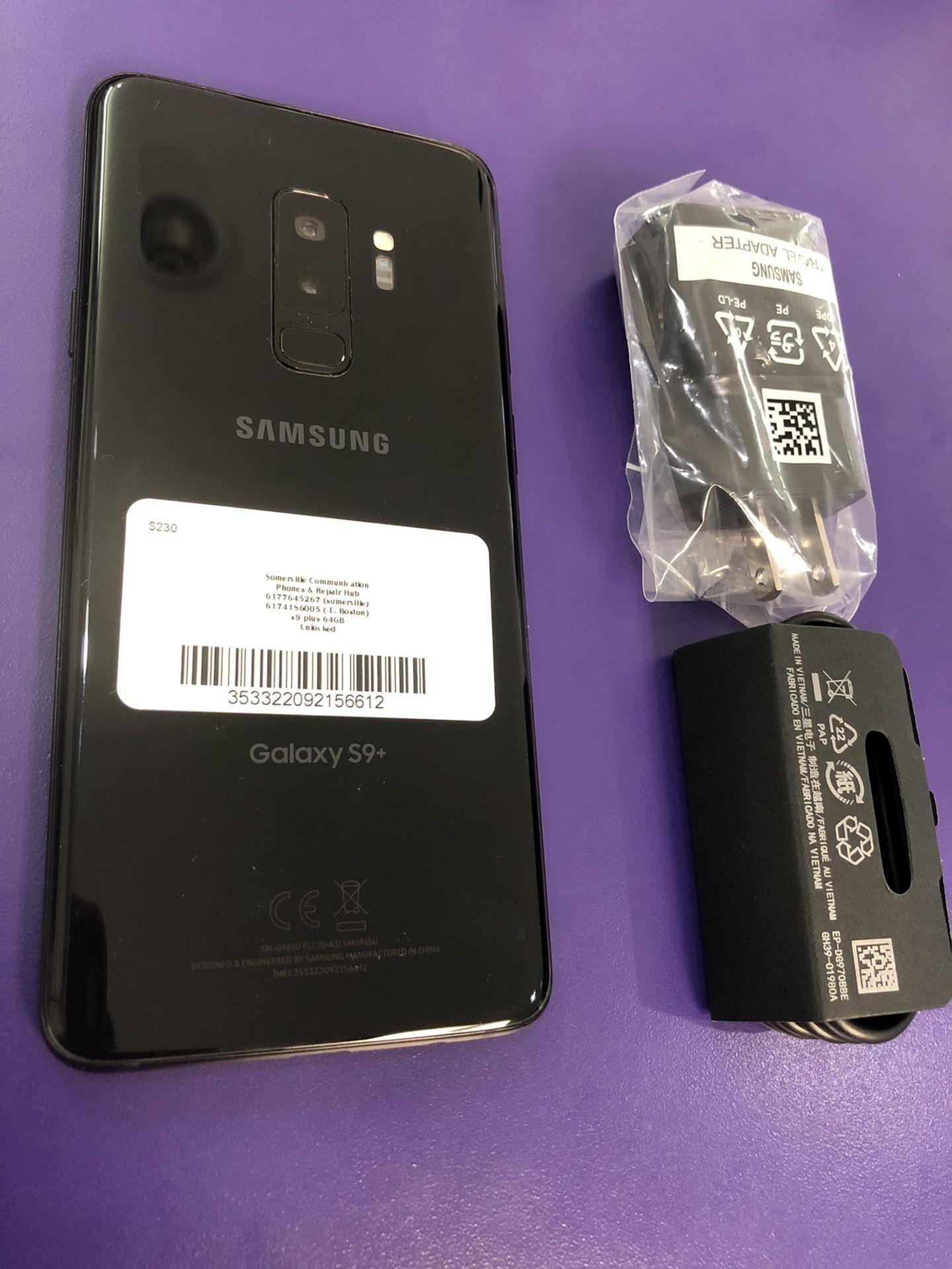 Samsung Galaxy s9plus 64 gb unlocked