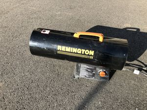 Remington Portable Propane Heater- Forced Air Propane 125 for Sale in Warrenton, VA