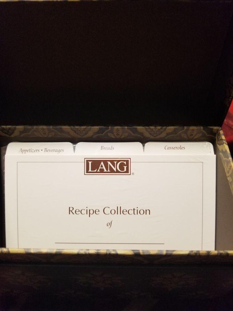 Honey & Grey Recipe Card Box by Lori Siebert