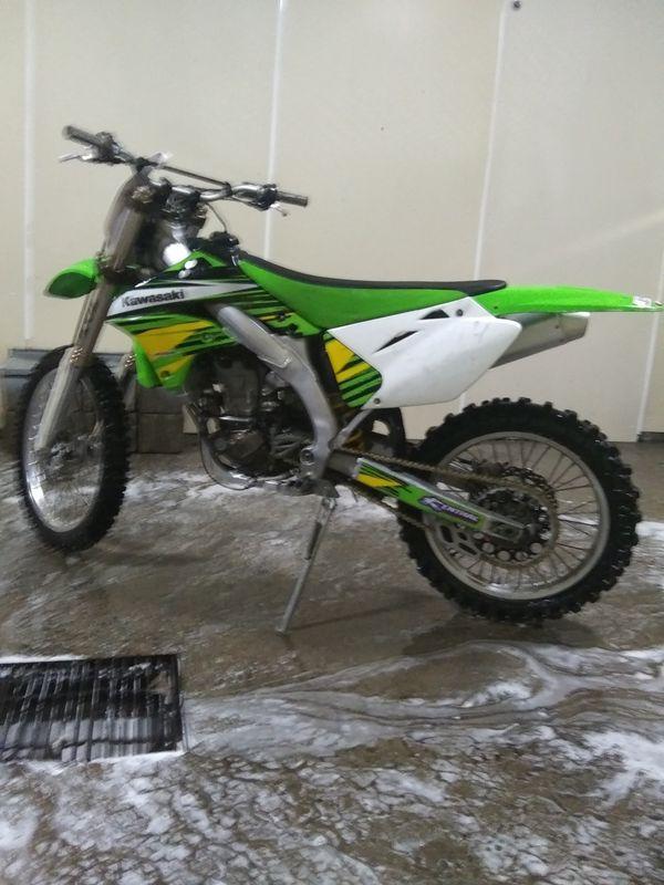 06 kx450f dirtbike