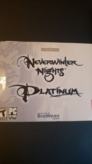 Neverwinter Nights Platinum (PC) for Sale in Atlanta, GA