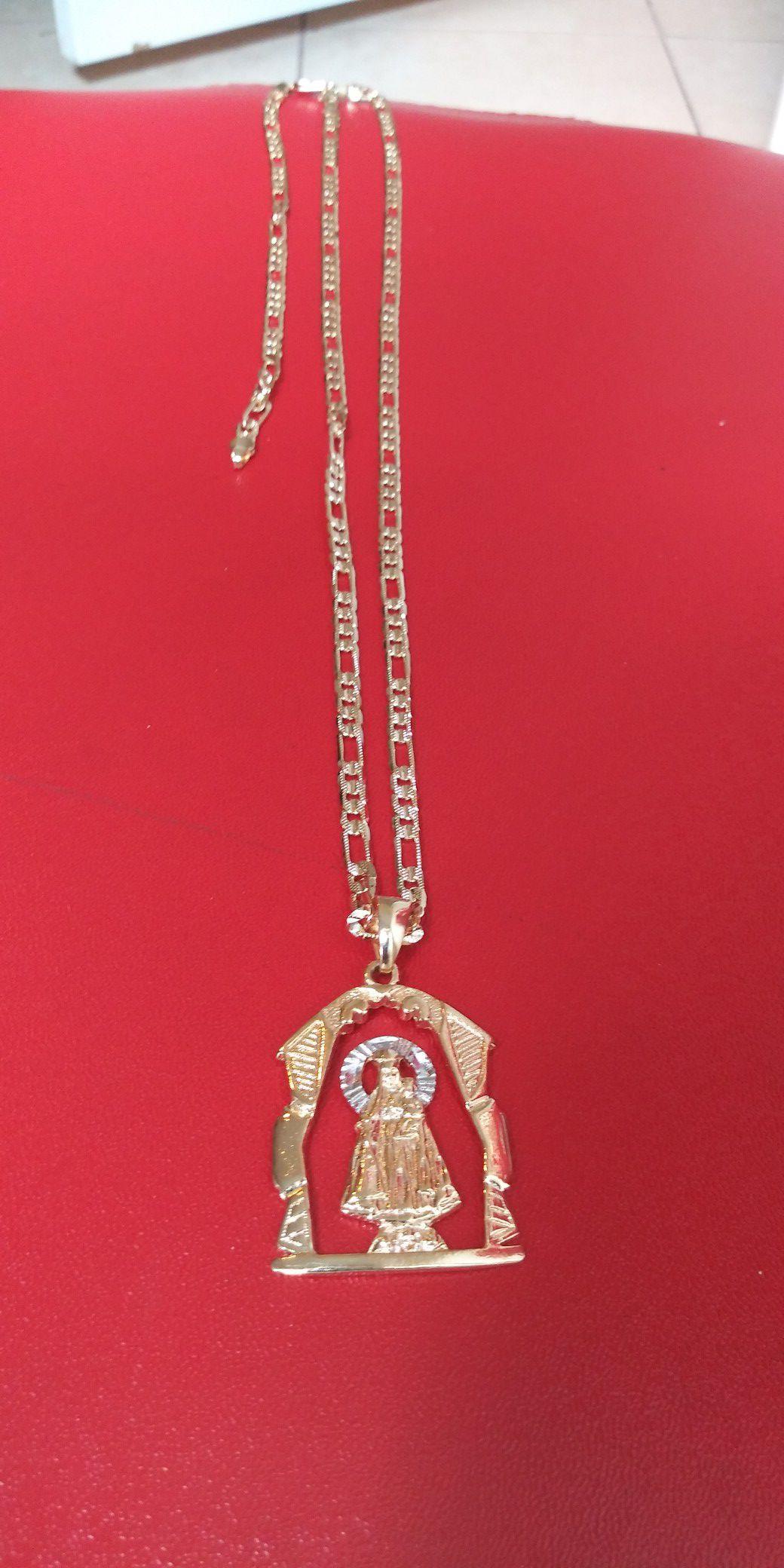 🚚💨I deliver🚀I Ship...😍😍💎14k Gold filled 💦 Necklace charm and bracelet🌟🌟🌟🌟🌟
