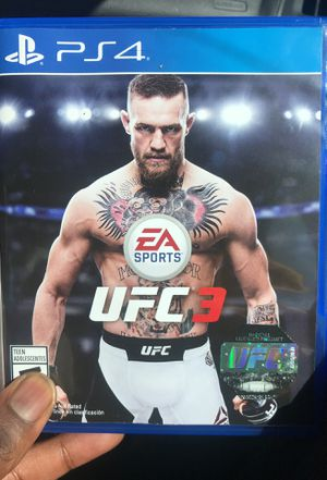 UFC 3 PlayStation 4 (brand new) for sale  Wichita, KS