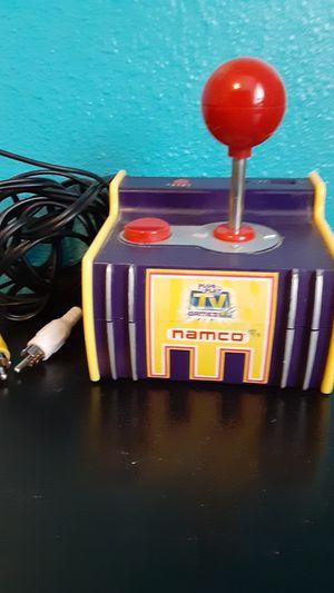 Photo Namco pac man joy stick plug and play!