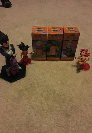 Dragon ball super collectibles for Sale in Centreville, VA