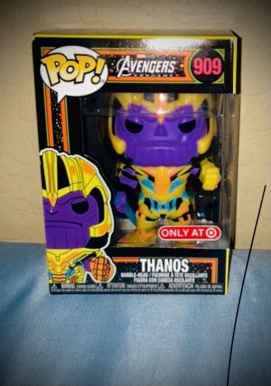 Funko Pop Blacklight Thanos Target Exclusive NWT/NEW