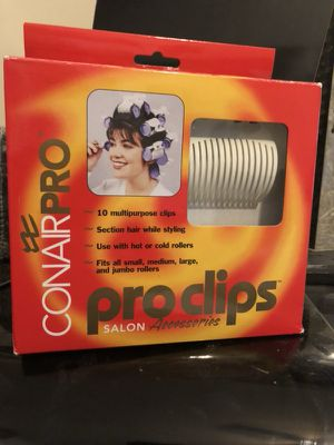 CONAIR PRO: Pro Clips for Sale in Inwood, WV