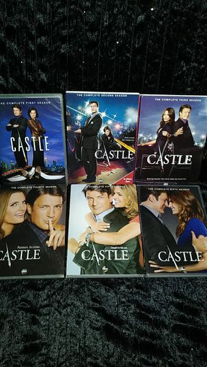 Castle series on Dvd seaons 1 - 6 for Sale in New Hill, NC