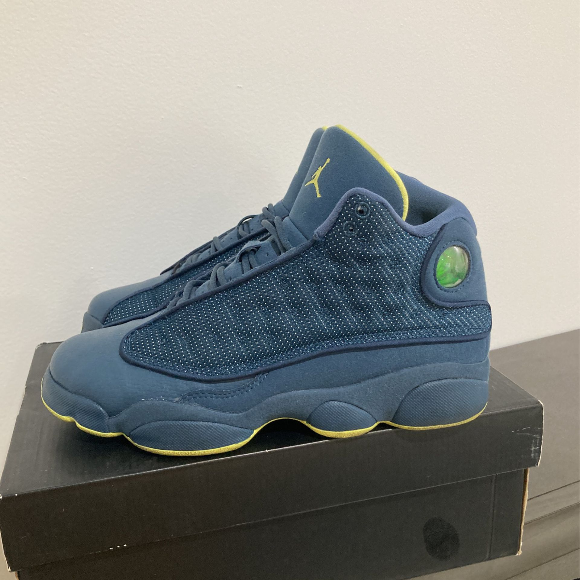Jordan 13 Retro Squadron Blue
