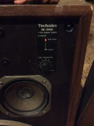 Technics sb-g500 speakers for Sale in Glen Allen, VA