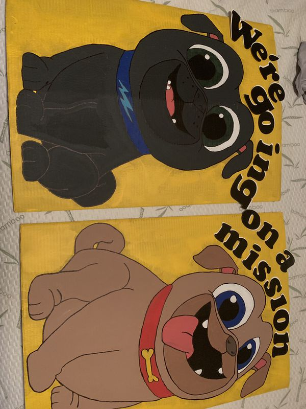 Puppy dog pals birthday supplies for Sale in San Antonio, TX - OfferUp