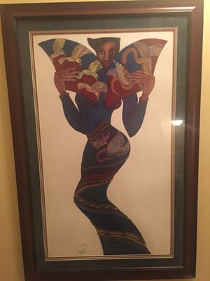 "Charles Bibbs ""Blue Diva"" - Limited Edition for Sale in Brambleton, VA"