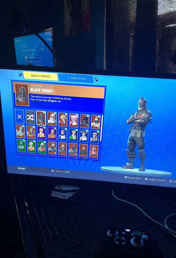 All Christmas Skins Fortnite.Fortnite Account With All Christmas Skins And Black Knight For Sale In Mastic Ny Offerup