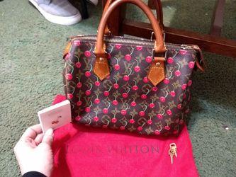 Authentic Louis Vuitton cherry handbag Thumbnail