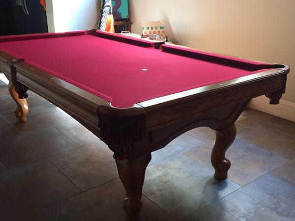 Brunswick Greenbriar II Ft Pool Table For Sale In Delray Beach FL - Brunswick greenbriar pool table