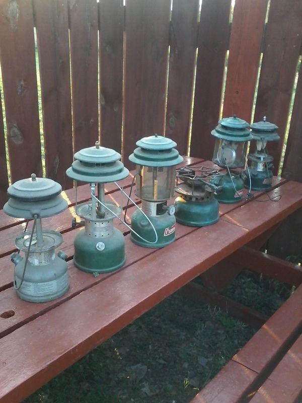 Old Coleman Lanterns