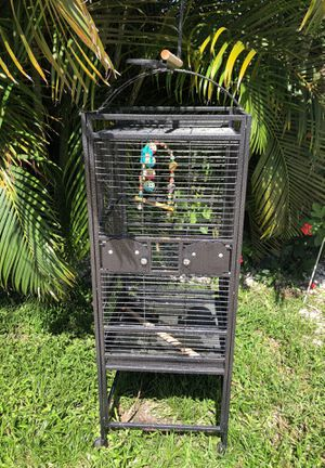Metal Bird Cage, excellent condition! for Sale in Largo, FL